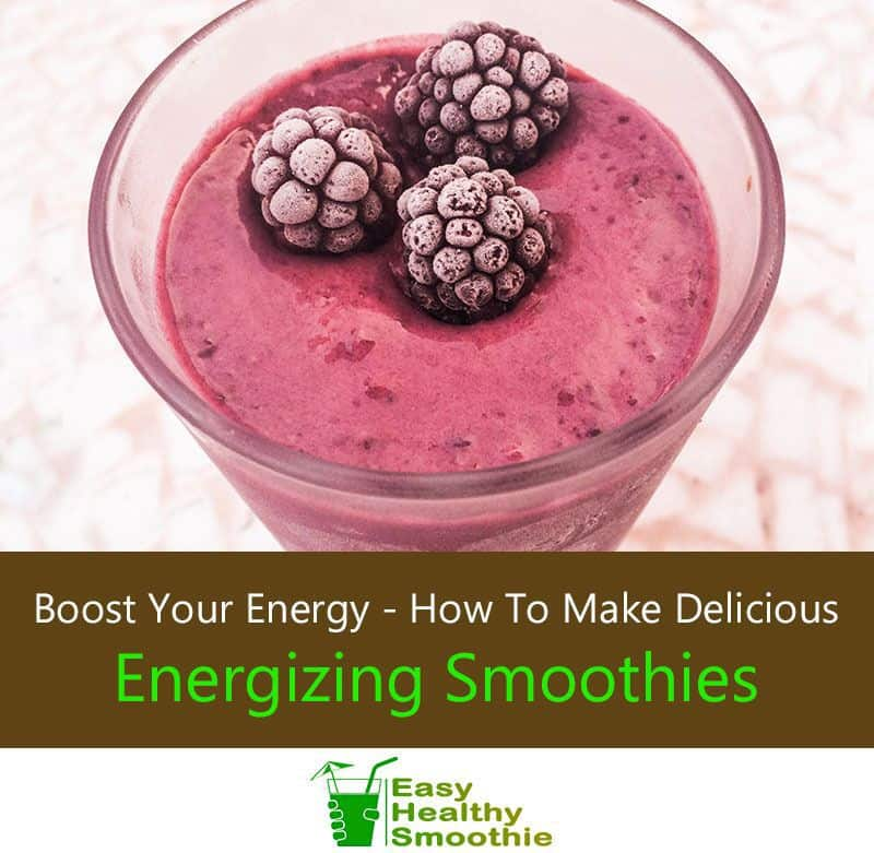 Boost Your Energy, Make Smoothies - Featured Image