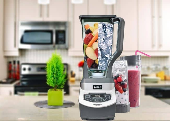 Nutri Ninja pro blender BL660 in kitchen