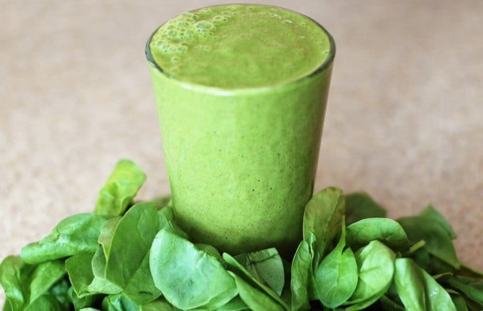 High Calorie Green Smoothie