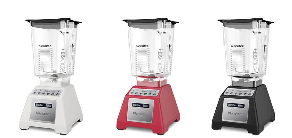 Blendtec Total Blender in Three Colors