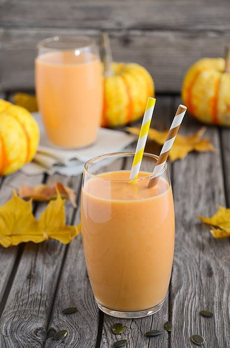 Pumpkin and Bee Pollen Smoothie