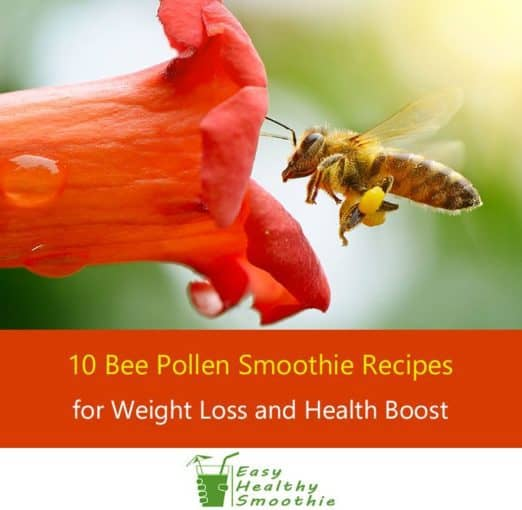 Bee Pollen Smoothie Recipes - Featured Image