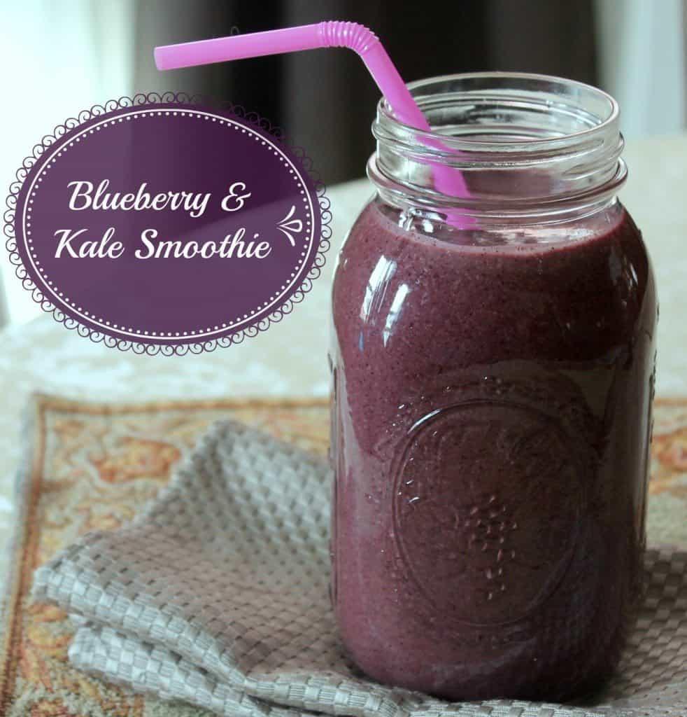 Kale Blueberry Smoothie