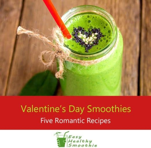 Valentines day smoothies - Featured Image