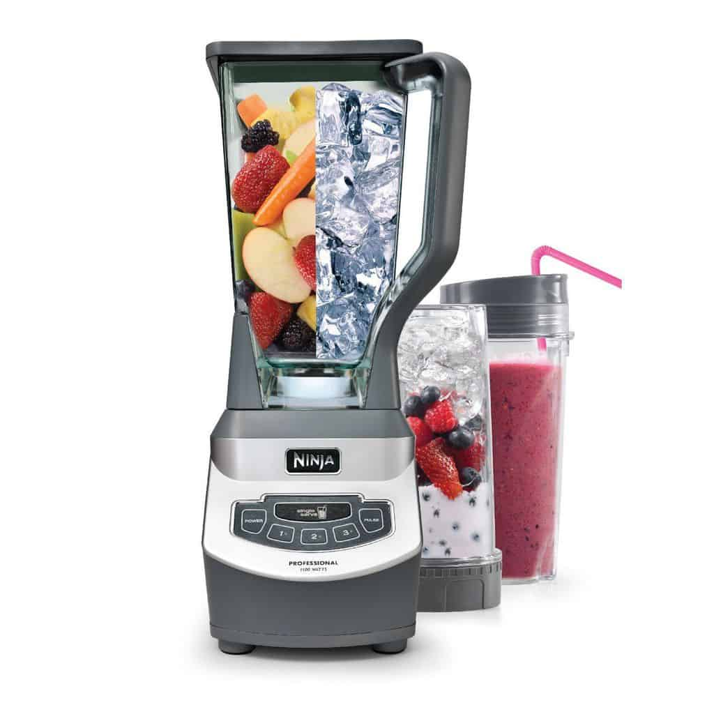 Ninja Professional Blender U0026 Single Serve Nutri Ninja Cups (BL660)