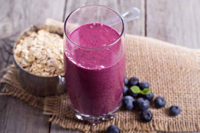 Berry Almond Milk Smoothie