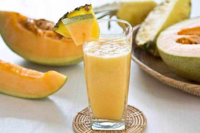 Melon Smoothie Without Yogurt