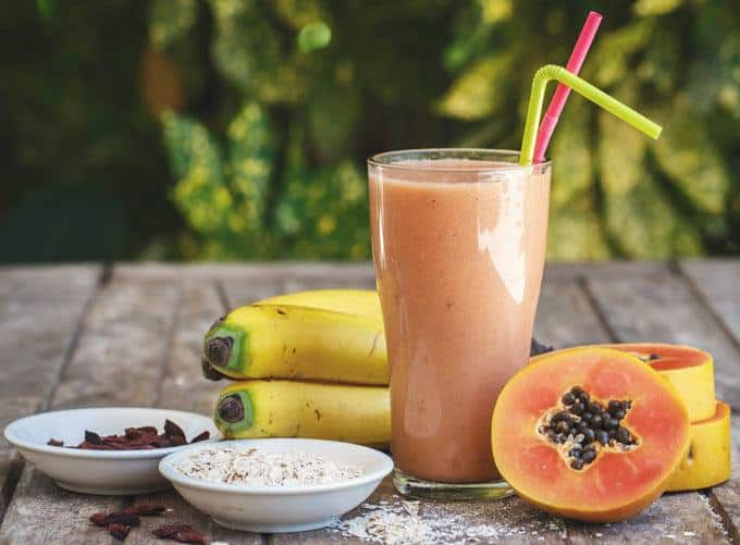 Papaya Tropical Smoothie