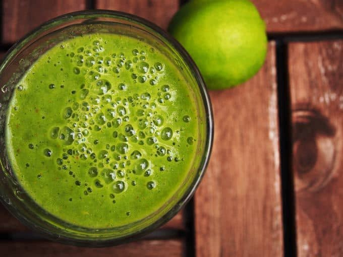 Green Apple Citrus Twist Smoothie