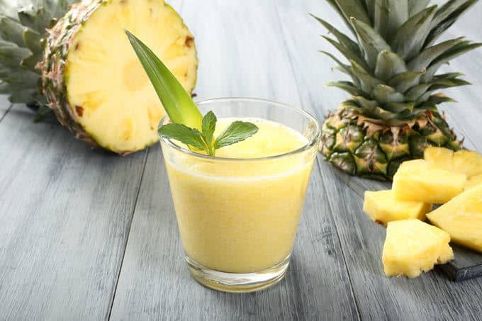 Mango Pineapple Ginger Smoothie