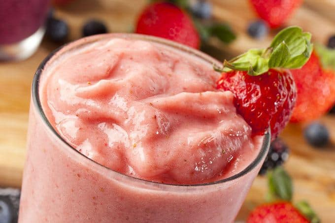meal replacement strawberry smoothie