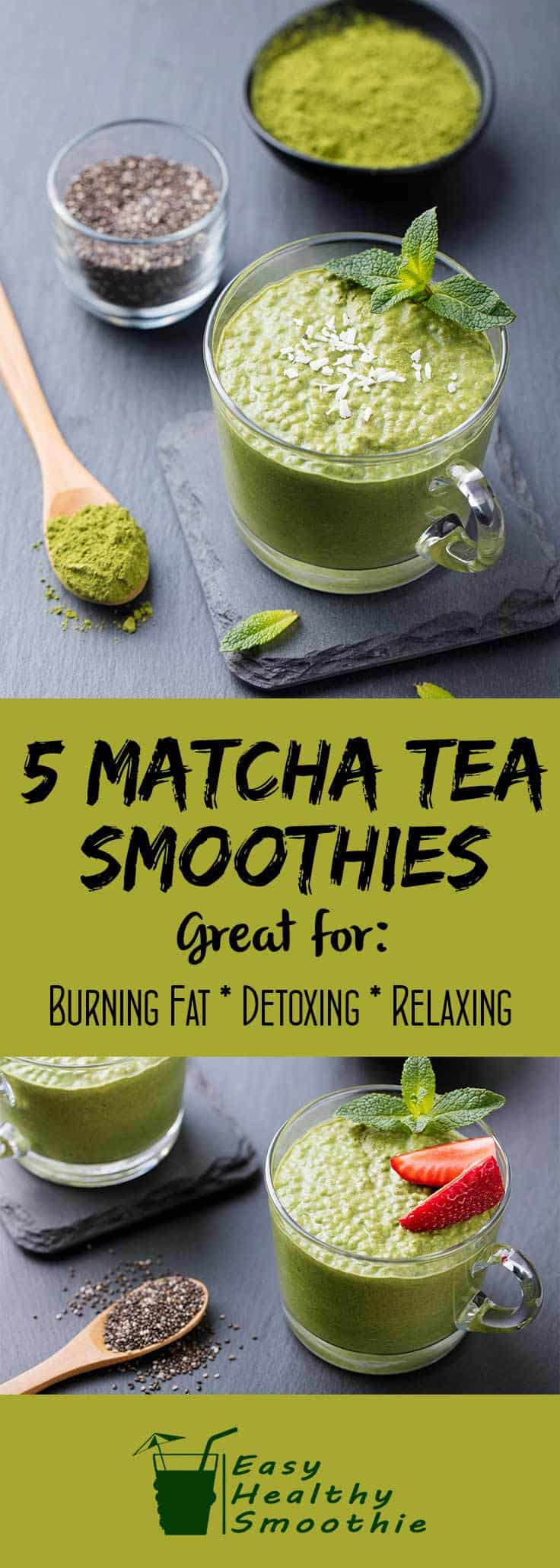 5 Matcha Tea Smoothies