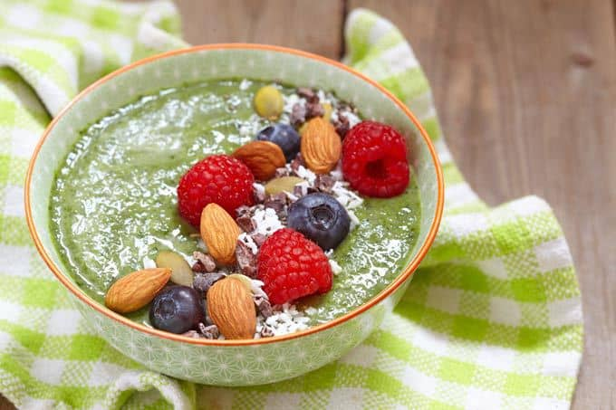 Green Goddess Smoothie Bowl Recipe