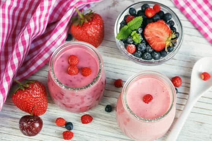 recettes de smoothie aux baies pour perdre du poids