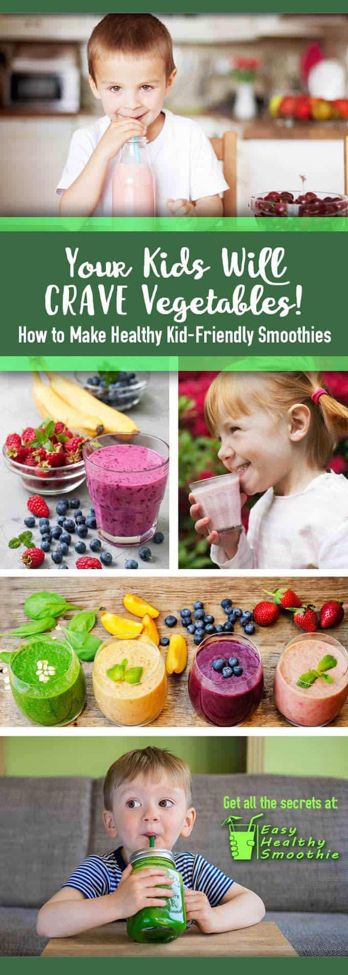 kid friendly smoothies pin