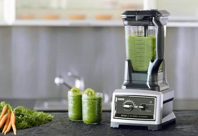Ninja Ultima Blender in kitchen