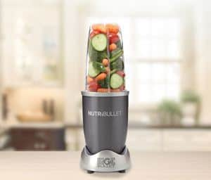 Nutribullet in kitchen