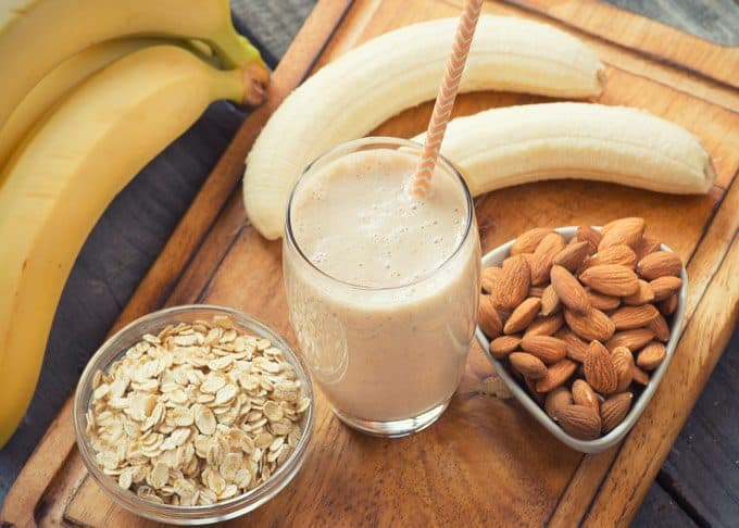 Banana Bread Oatmeal Smoothie Recipe