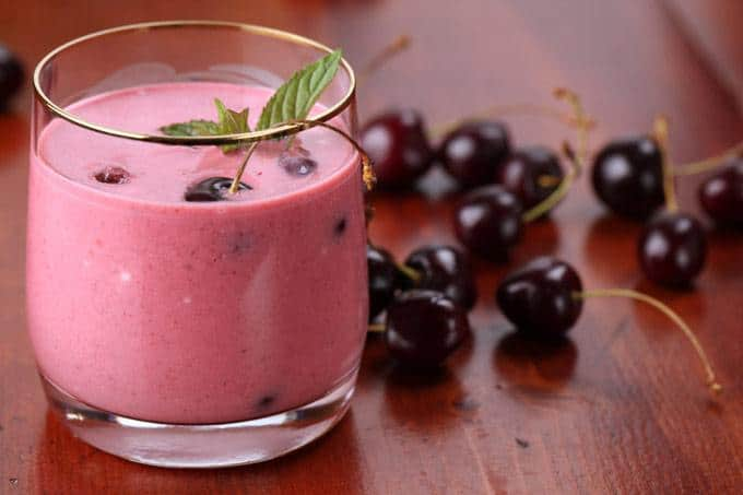 Banana Cherry Sleepy TimeSmoothie