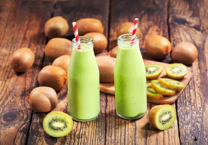 kiwi smoothie for better sleeping