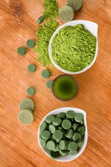 Wheatgrass tablets and powder