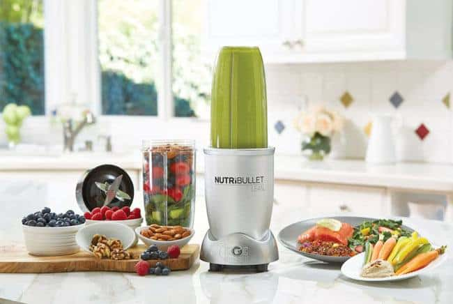 nutribullet lean in kitchen