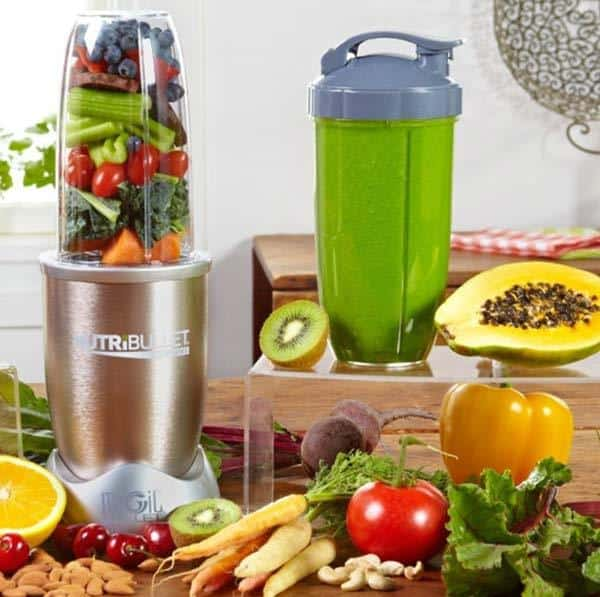 nutribullet pro in kitchen