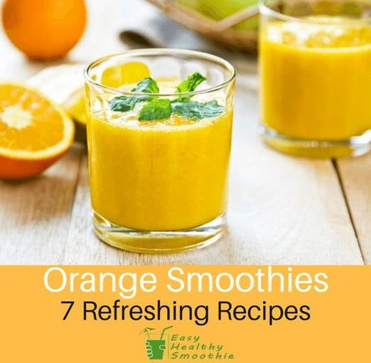 Orange Smoothie recipes