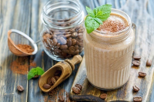 coffee smoothie vegan