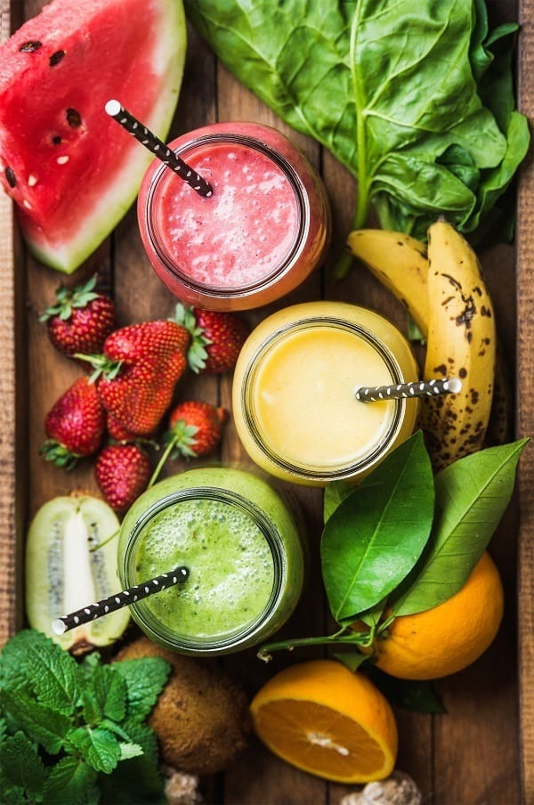 watermelon ginger lemon smoothie