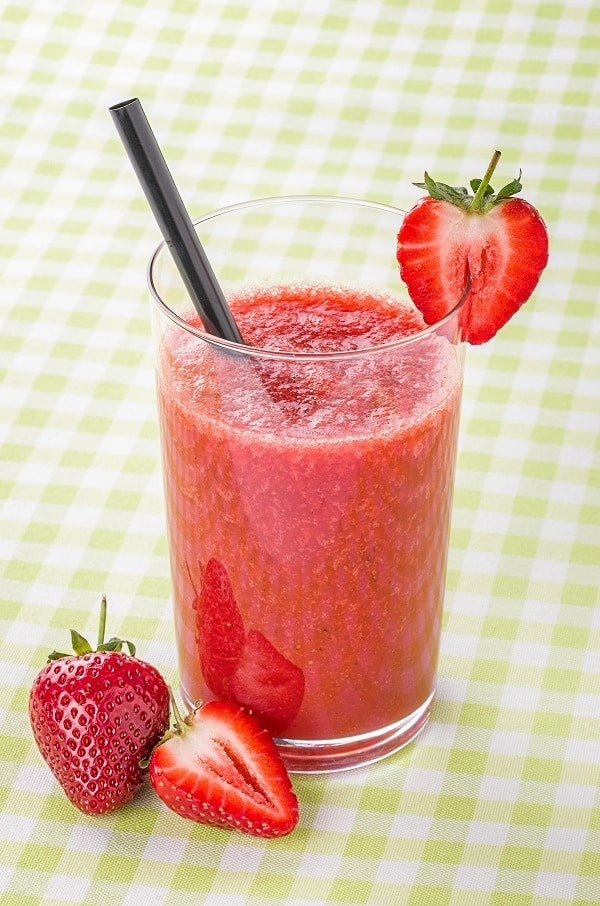 strawberry cinnamon smoothie