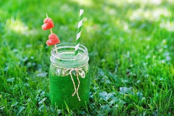 spinach vegan smoothie