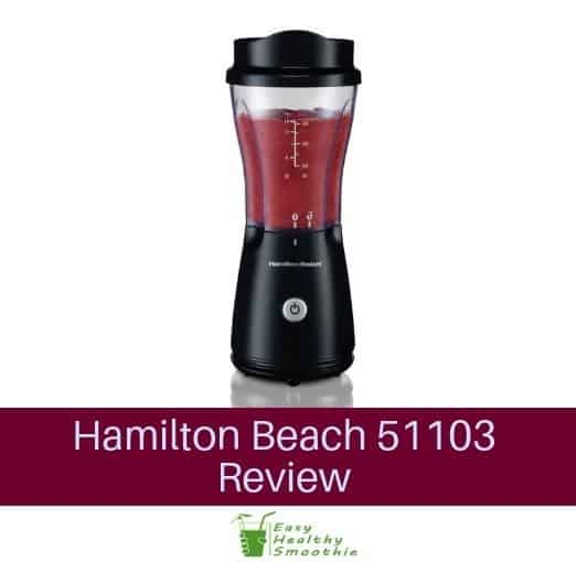Hamilton Beach 51103 Review